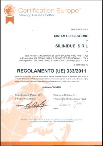 Certificazione Sistema di gestione
